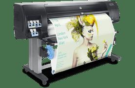 Graphic design printers for impactful displays