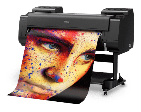 Stunning imagery, larger than life. Print with 12 colour inks up to 44